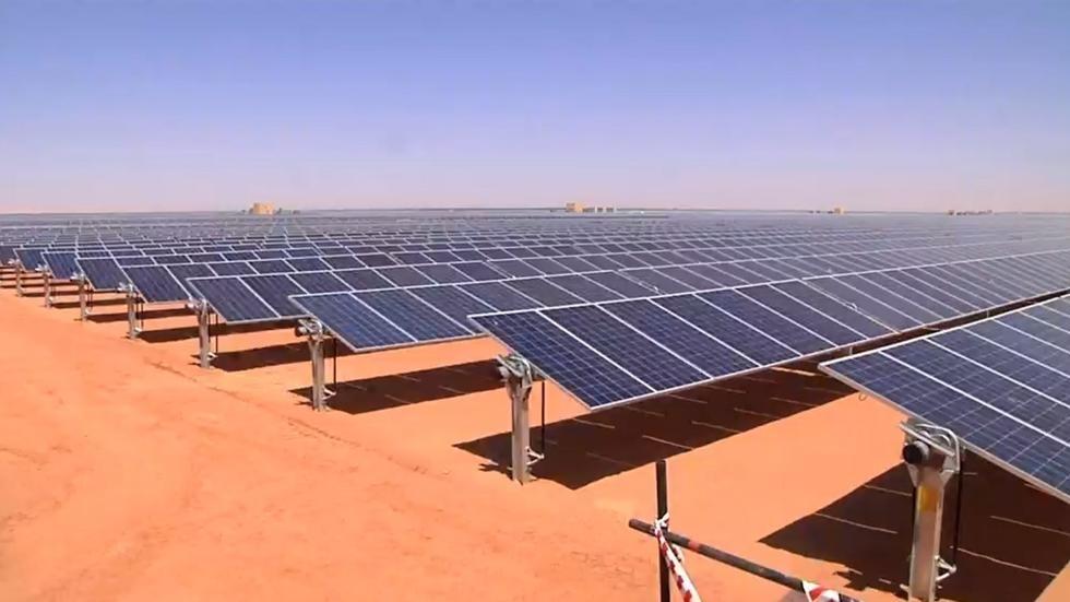 مشروع طاقة شمسية